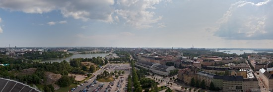 Helsinki from The Tower of the Olympic Stadium