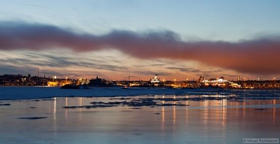 Helsinki from Suomenlinna