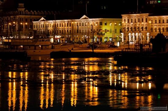 Market square from Suomenlinna ferry